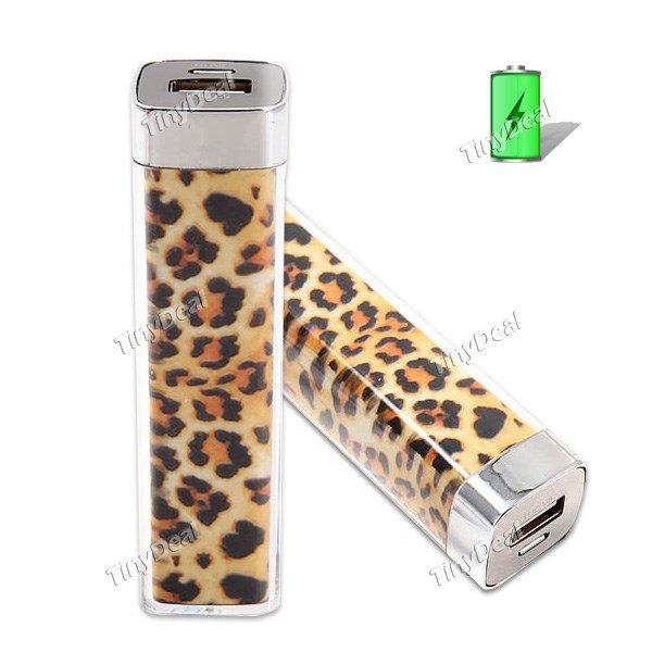 2600mAh Leopard Mobile Power Bank [Tinydeal]