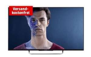 Sony KDL-50W815B (50 Zoll) 3D-LED-Backlight-Fernseher (Full HD, 600Hz Motionflow XR, Smart View, DVB-T/T2/C/S/S2, CI+, WLAN, X-Reality PRO) für 599€ @Media Markt