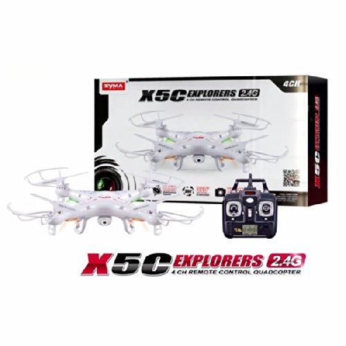 [Amazon-Marktplatz] Syma X5C 2.4G 6 Axis GYRO 2.0MP HD Camera RC Quadcopter RTF 3D RC Helicopter