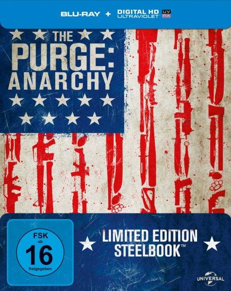 The Purge: Anarchy BluRay Steelbook für 12,99€ inkl. VSK