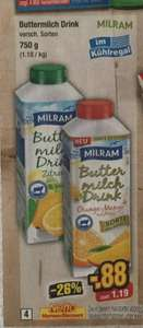 [Netto MD KW34] Milram Fruchtbuttermilch 750g [max 10Stk Coupies]