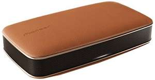 Pioneer FREEme XW-LF3-T Lautsprecher (Bluetooth, 360 Grad Sound, Echt-Leder-Oberfläche, NFC, integrierter Akku) für 99,89 €, @Cyberport