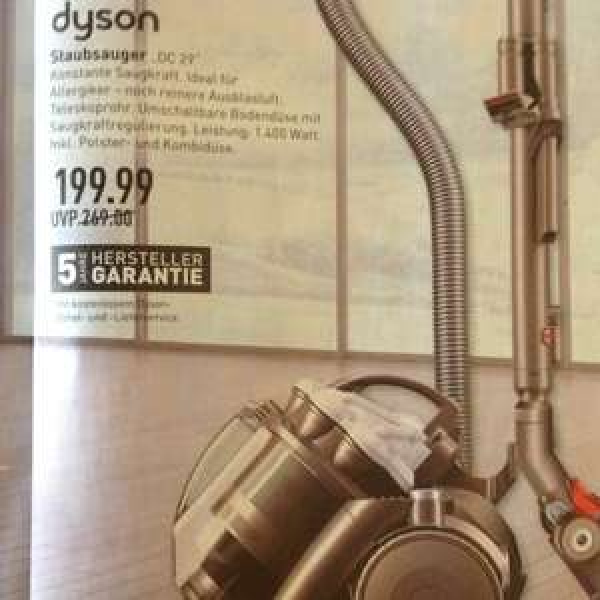 Dyson DC 29 Staubsauger Marktkauf Wesseling