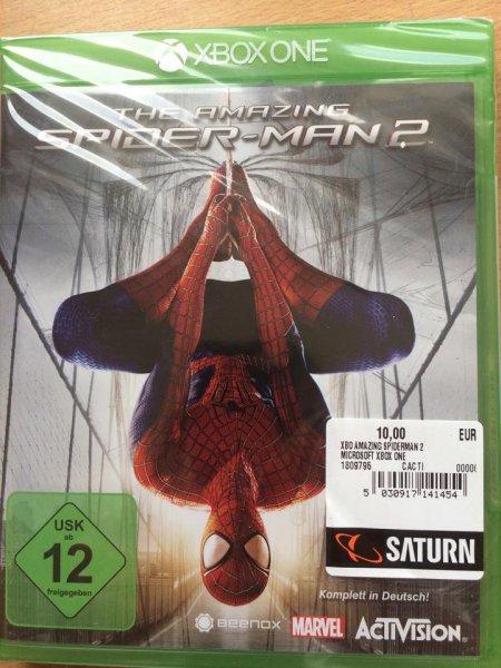 The Amazing Spider-Man 2 Xbox one  Lokal Berlin Saturn Alexanderplatz