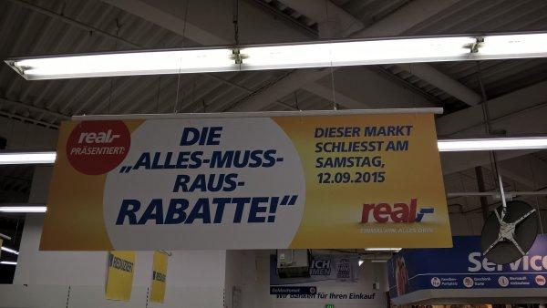 [lokal Pfungstadt] Real schließt - viele Rabatte