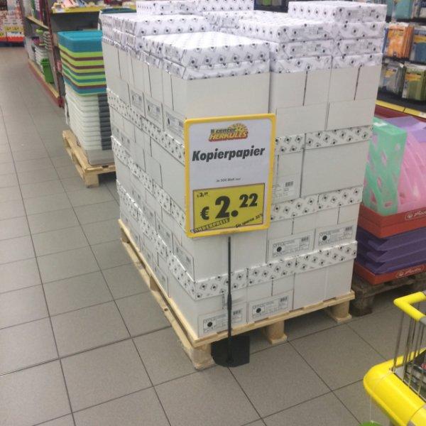 [lokal?] Kopierpapier 500stk 80gr 2,22€