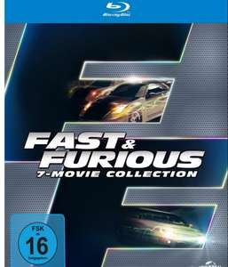[Müller] Fast and Furious 1-7 Blu-Ray Box