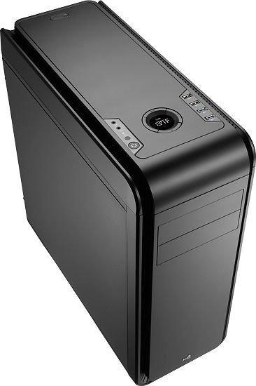 AeroCool DS 200 Lite Black - ATX-PC-Gehäuse mit Lüftersteuerung - 64,90€ @ ZackZack.de