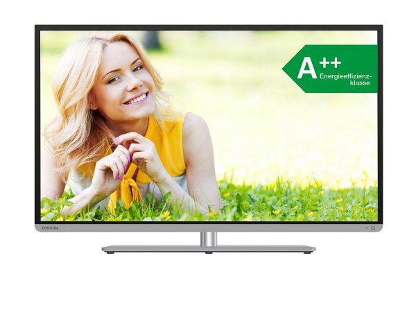 "Toshiba LED-TV ""48T5445DG"" 122 cm/48"" Diagonale (3D, 800Hz, Smart-TV, A++, Full-HD, inkl. 3 D-Brillen) für 449 € inkl. Versand, @ZackZack"