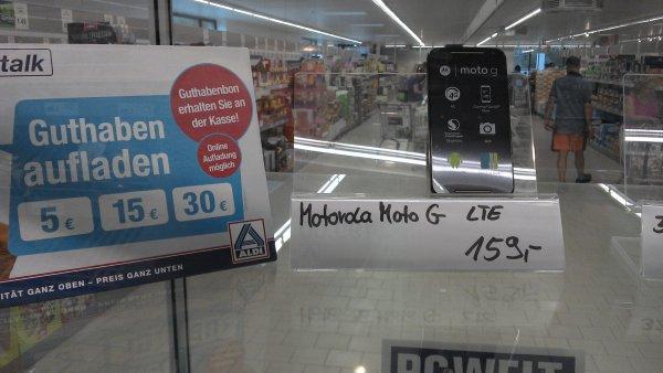 [Lokal Berlin]  ALDI Galenstr., Spandau - Motorola Moto G LTE 2nd Gen. für 159 € inkl. Netzteil und 10 € Aldi Talk Karte