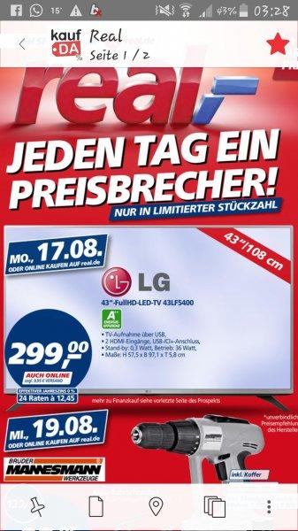 LG 43LF5400 @ Real