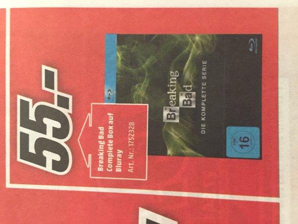 Lokal? Breaking Bad Complete Box Blu Ray MM Krefeld 55 Euro