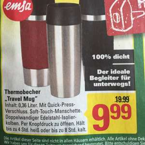 Emsa Thermobecher Travel Mug 0,36 Liter