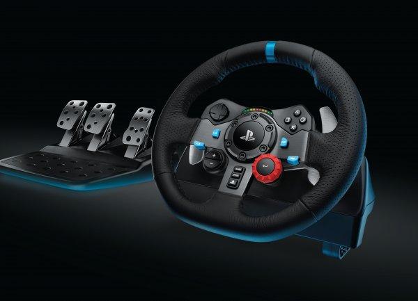 Logitech G29 Driving Force Racing Lenkrad für PS4, PS3 (UK Version) über Amazon