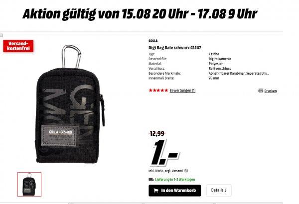 GOLLA Kameratasche nur 1 Euro (Mediamarkt online)