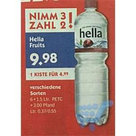 [Hol Ab]  Hella Near Water PET-Flasche EW (6x1500ml Kasten)