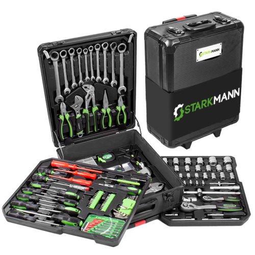 Starkmann Blackline Werkzeugkoffer 225tlg