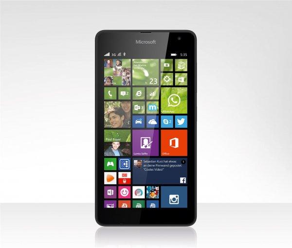 Lumia 535 - Windows 10 fähiges Smartphone für 77€