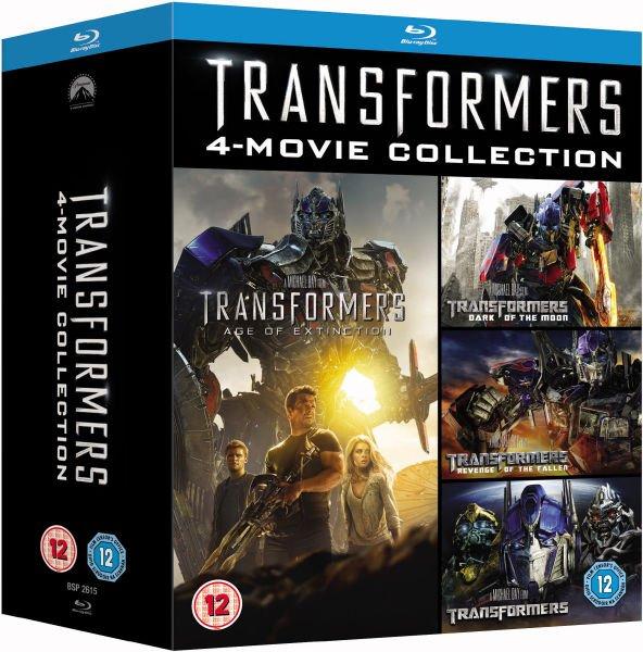 Blu-ray Box - Transformers 1-4 (5 Discs) für €18,73 [@Zavvi.com]