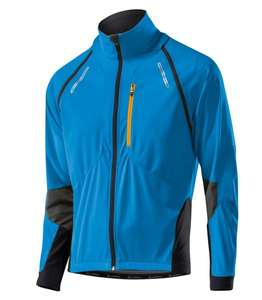 LÖFFLER  Bike Zip-off-Jack WS Softshell - Windjacke