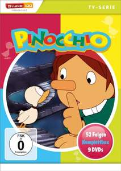 [Amazon.de] Pinocchio - Komplettbox [9 DVDs] 27,97 Euro bzw. Nils Holgersson - Komplettbox [9 DVDs] 30,97 Euro