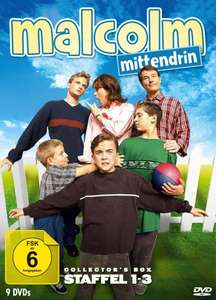 (Amazon.de) Malcolm Mittendrin - Collector's Box Staffel 1-3 auf 9 DVDs für 33,97€ und Heidi - TV-Serien Komplettbox auf 8 DVDs für 27,97€