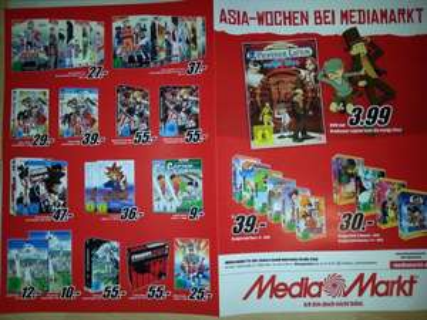 Lokal??? [Köln] Asia-Wochen bei Media Markt - DVD - Summer Wars - Deluxe 10€ - Prof. Layton 3,99€