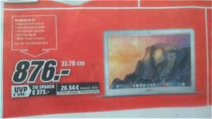 "MacBook Air 13"" (MJVE2D/A) Media Markt Siegen (Lokal)"