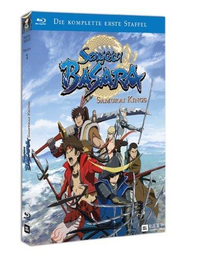 (Anime/Prime) Sengoku Basara: Samurai Kings Staffel 1 & 2 Blu-ray für je 24,97 €