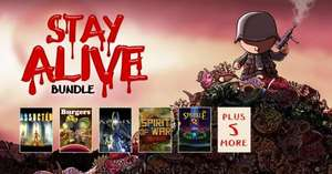 [Steam] Stay Alive Bundle - 10 Steam Games für 2,69€ @Bundlestars