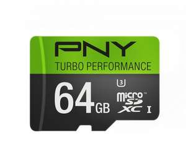 PNY U3 Turbo 64GB MicroSDXC (Lesen: 90MB/s - Schreiben: 50MB/s) für 37,58€ @Amazon.com