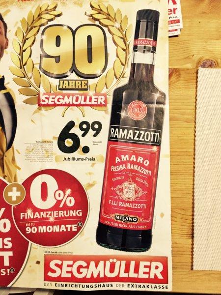 Ramazzotti - 0,7 Liter zu EUR 6,99,- (LOKAL)