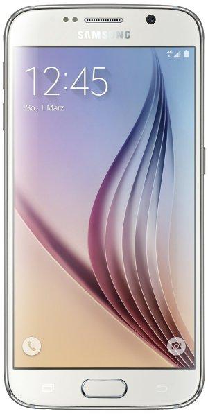 AMAZON.de | Samsung Galaxy S6 64GB weiß [T-Mobile Branding] + Fanbundle = 490,51€