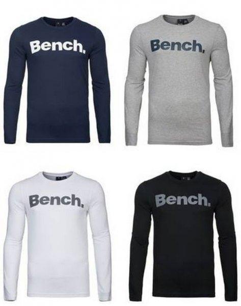 "Bench.™ - Herren Langarm-Shirt ""Coalition"" (Weiß,Schwarz,Blau,Grau) ab €12,92 [@Allyouneed.com]"