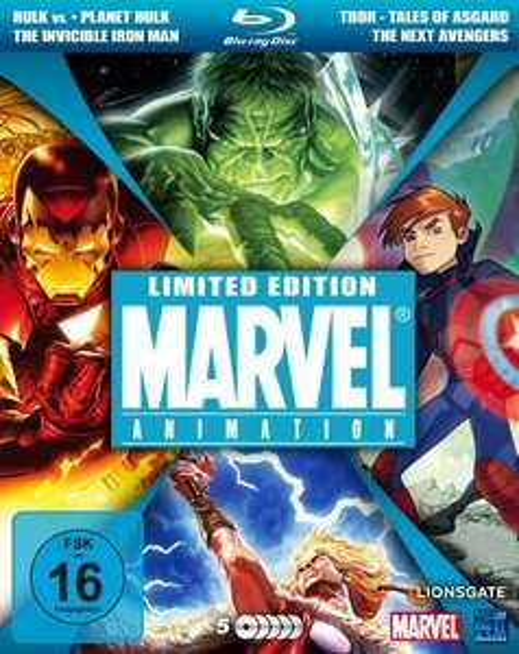 Marvel Animation  [Blu-ray] (Limited Collector's Edition) für 21,97 € > [amazon.de] > Prime