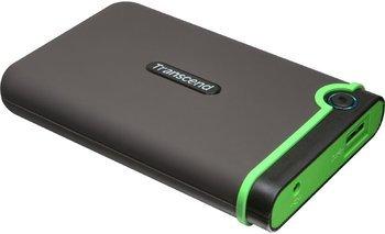 Transcend StoreJet 25M3 Anti-Shock 1TB externe Anti-Shock Festplatte mit Umfragegutschein inkl. Vsk für 52,49 € > [conrad.de]