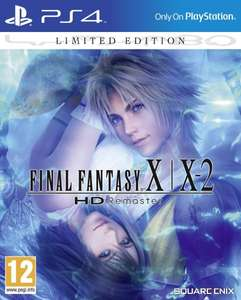 Final Fantasy X/X-2 HD Remaster Limited Edition Steelbook PS4