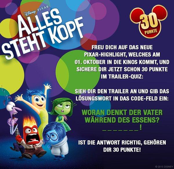 Disney Movies & More - 30 Punkte durch Trailerquiz