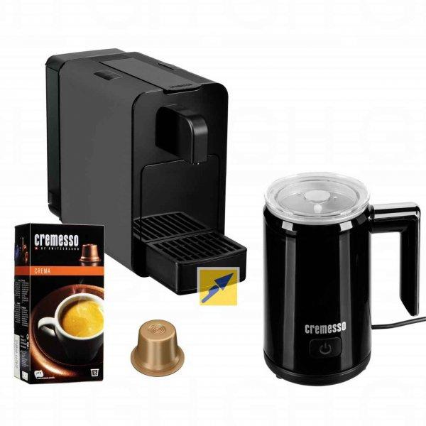 Cremesso VIVA B6 Kapselmaschine + Milchschäumer + 16 Kapseln für 79€ mit MasterPass @TechnikDirekt