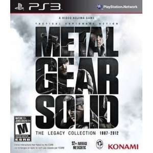 [Play-Asia.com] [PS3] Metal Gear Solid: The Legacy Collection (ohne Artbook)