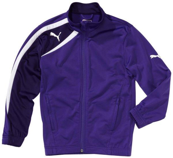 PUMA / Kinder Jacke Spirit Poly Jacket / Größe 164 in Blue/White für 13,10 € und in Purple/White für 13,91 € (Größe 176 für 16,13 €)/ @Amazon Prime