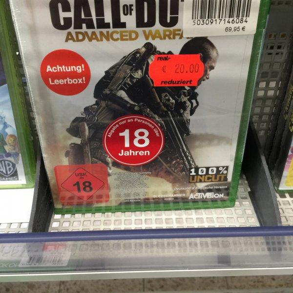 ((Lokal Real/15890)Call of Duty Advanced Warfare Xbox One