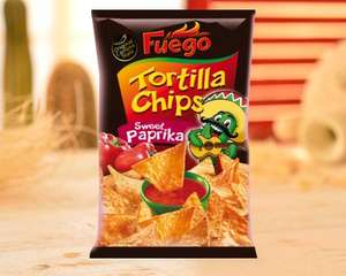 [MAINTAL] Globus: Fuego Tortilla Chips Barbecue / Chili / Sweet Paprika für 0,80€ (MHD)