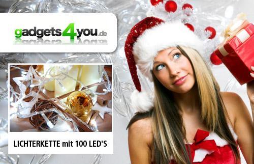 10m LED Lichterkette mit Effekten inkl. Steuerbox für 14,90 Euro @Qypedeals