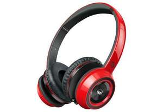 [DealClub] MONSTER Kopfhörer NCredible N-Tune On-Ear Cherry Red mit ControlTalk