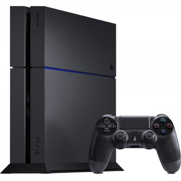 Playstation 4 schwarz (neues Modell) @Rakuten für 315,15€