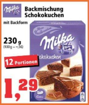 [Thomas Philipps] Milka Kuchen und Oreo Brownies (Backmischung) für je 1,29€