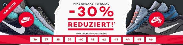 30% auf ausgewählte Nike Sneaker bei planet-sports.de