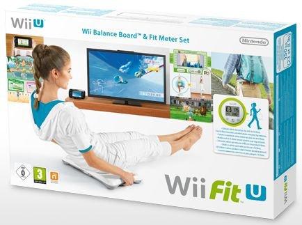 Nintendo Wii Fit U + Fit Meter grün + Wii Balance Board weiss - 32,90€ @ Comtech.de