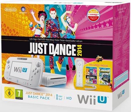 Nintendo Wii U Konsole Basic Pack - 8GB inkl. Just Dance 2014 & Nintendoland & Wii Remote Plus- 177,65€ @ Rakuten/Buecher.de